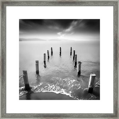 Long Silence Framed Print by Taylan Apukovska