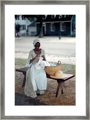 Long Time Ago Framed Print