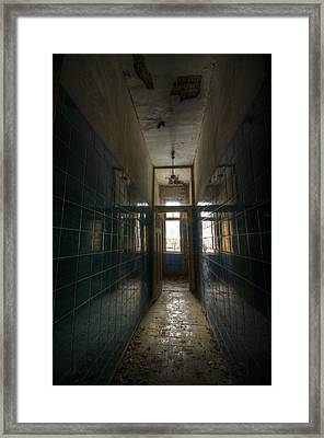 Long Time To Reflect Framed Print by Nathan Wright