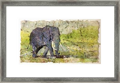 Long Walk Home From The Bar....... Framed Print by Ryan Fox