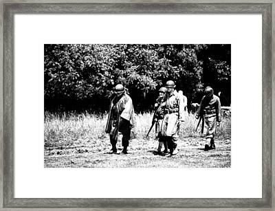 Long Walk Framed Print by Jame Hayes