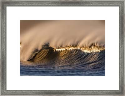 Long Windy Crest  73a0468 Framed Print