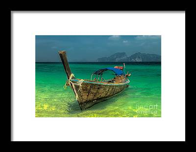 Asia Framed Prints