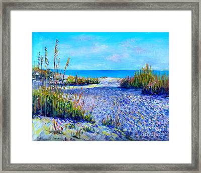 Longboat Key View Framed Print