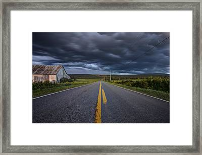Longest Mile Framed Print
