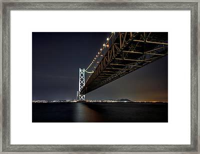 Longest Suspension Bridge In The World Framed Print