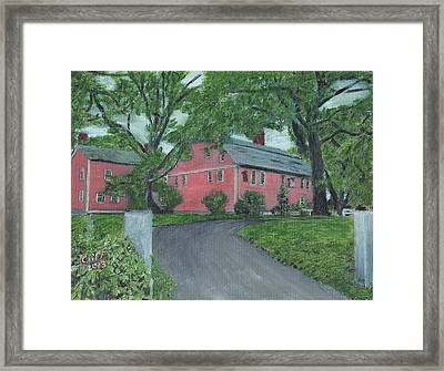 Longfellow's Wayside Inn Framed Print by Cliff Wilson