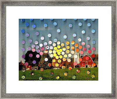 Longhillfarm Sunsetsegue3 Framed Print by Irmari Nacht