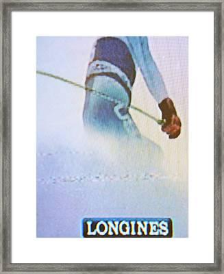 Longines Framed Print