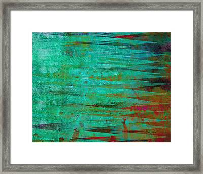 Longing - Abstract - Art Framed Print by Ann Powell