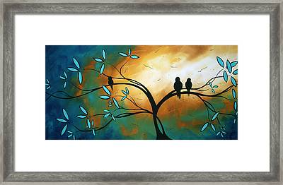 Longing By Madart Framed Print