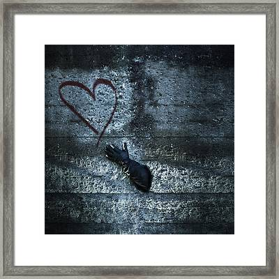 Longing For Love Framed Print by Joana Kruse
