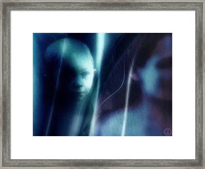 Longing Framed Print by Gun Legler