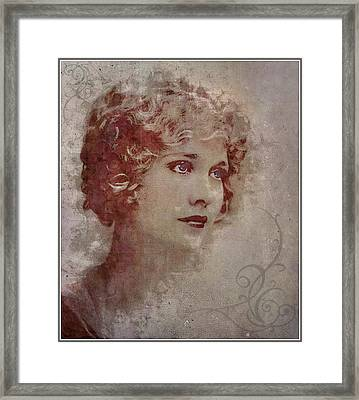Longing... Framed Print by Marie  Gale