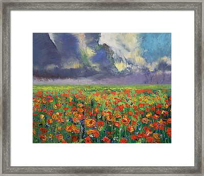 Longing Framed Print by Michael Creese
