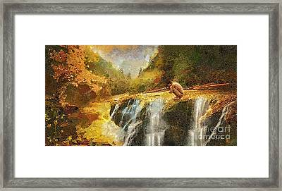 Longing Framed Print by Mo T