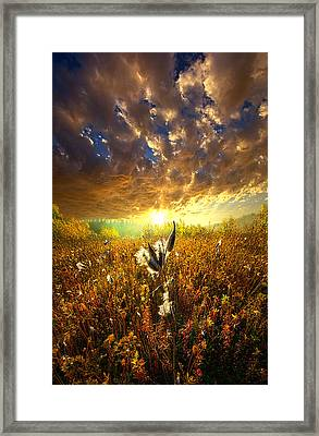 Longing To Return Framed Print