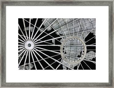 Longitudinally Abstract Framed Print