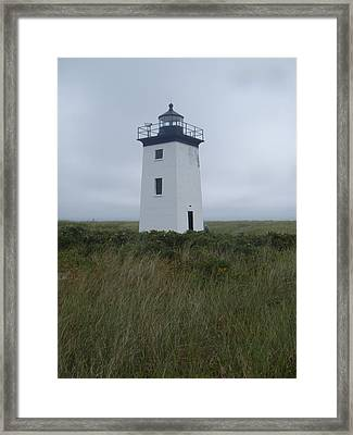 Longpoint Lighthouse Framed Print