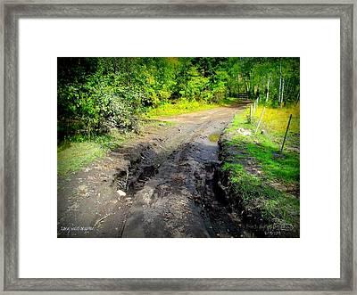 Framed Print featuring the photograph Longsinceforgotton 003 by Guy Hoffman