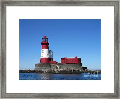 Longstone Lighthouse Framed Print by David Grant