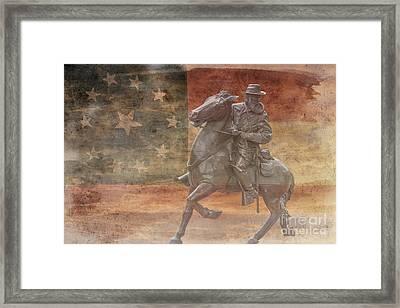 Longstreet  Framed Print by Randy Steele
