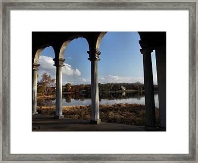 Longview Lake Framed Print