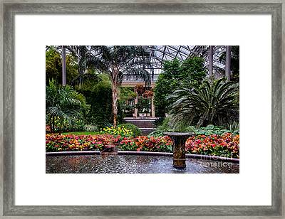 Longwood Gardens Framed Print by Ursula Lawrence