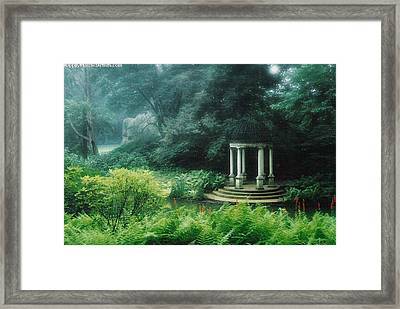 Longwood Gazebo Framed Print