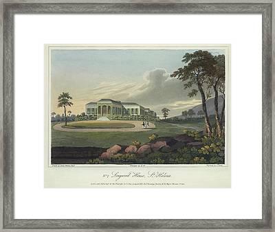 Longwood House Framed Print