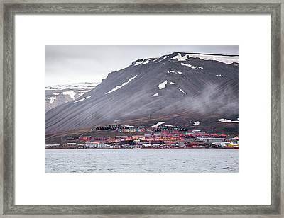 Longyearbyen Framed Print by Paul Williams