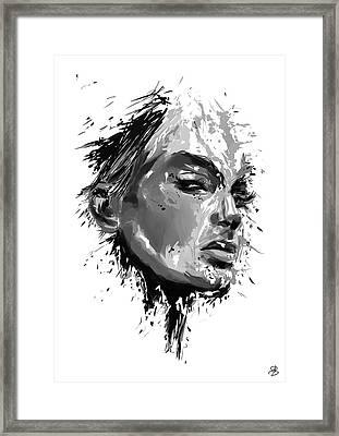 Look Framed Print