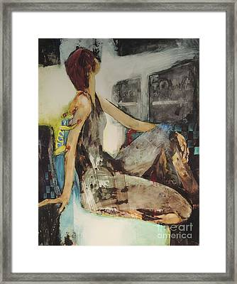 Look Beyond Framed Print by Helen Hayes