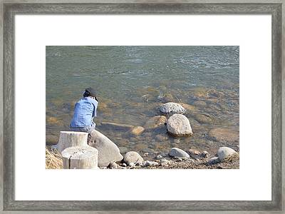 Look Close  Framed Print
