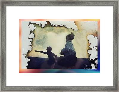 Look Framed Print by Hartmut Jager