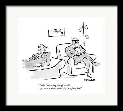 Psychoanalyst Framed Prints