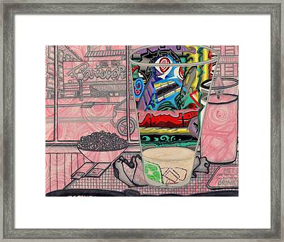 Look-in-glass Framed Print by Angelo Sena