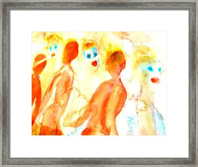 Look In The Mirror And See What You Can Find  Framed Print
