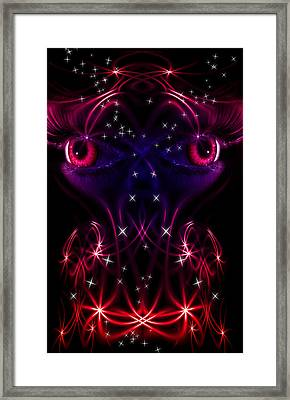 Look Into My Eyes Framed Print by Nathan Wright