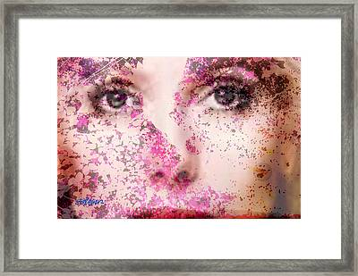 Look Into My Heart Framed Print by Seth Weaver