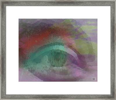 Framed Print featuring the digital art Look by Kelly McManus