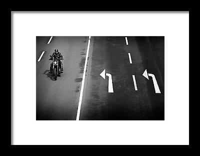 Motorbike Framed Prints