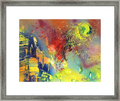 Look Look Up In The Sky Framed Print