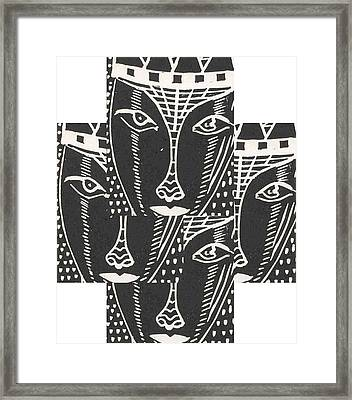 Look Me In The Eyes ... Framed Print