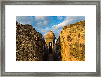 Look Out Framed Print by Kristopher Schoenleber