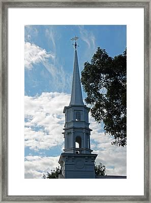 Look Skyward Framed Print by Suzanne Gaff