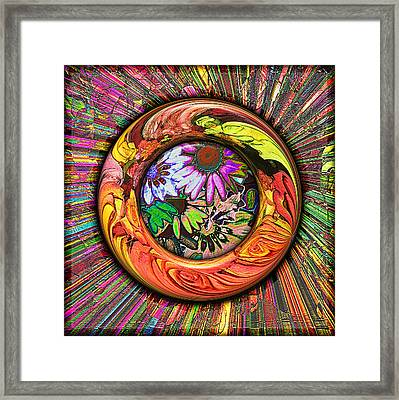 Look Through Any Window Framed Print by Wendy J St Christopher