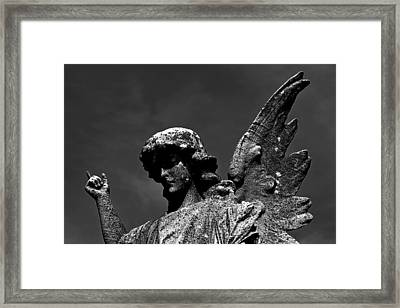 Look To Above Framed Print