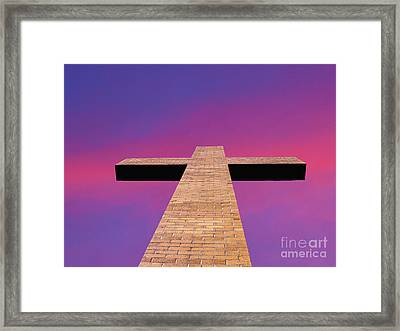 Look To The Heaven's Framed Print by Michael Waters