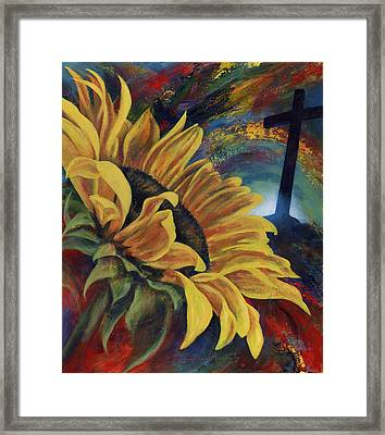 Look To The Son Framed Print by Don Michael Jr